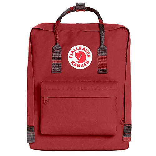 Fjällräven Rucksack Kanken Synthetik 16.0 l (Deep Red/Random Blocked)