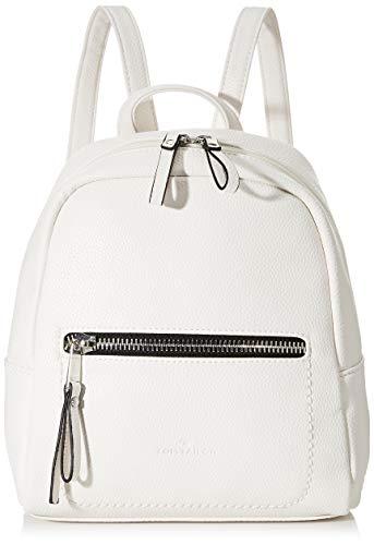 TOM TAILOR bags TINNA Damen Rucksack S, Weiß , 24x10,5x25