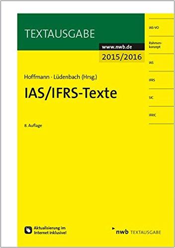 IAS/IFRS -Texte 2015/2016