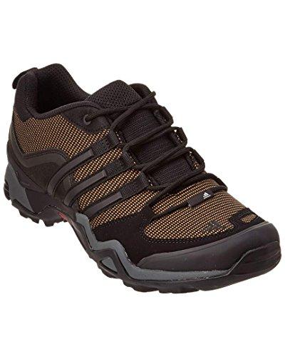 Adidas Terrex al Aire Libre X rápido Senderismo Zapatos - Tierra/Negro/Gris 9 Vista