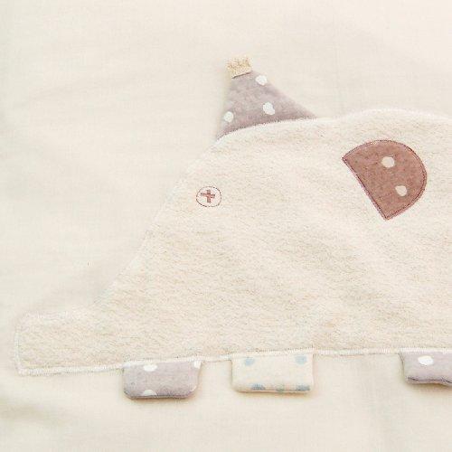 [10mois(ディモワ)-NAOMIITO]ベビー用おふとんセットふくふくガーゼ(6重ガーゼ)ケット付きウォシュロンふとん(丸洗い可)・クリーンくるマット(丸洗い可)OMINA約120cm新生児~6歳頃まで替えシーツあり