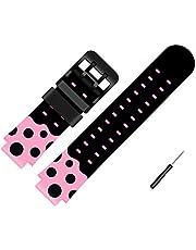 Coholl Kids Smart Watch Bandas de Repuesto para de 15mm,Compatible con PTHTECHUS CPROGRACE INIUPO YENISEY Silicona Correa de Reloj,Regalo para niñas y Estudiantes