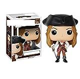 Figurines Pop Pirate Capitaine Elizabeth Swann Capitaine JackSparrow Figurine 10Cm,PVCJouets Collection Modèle Jouet Pour Enfants