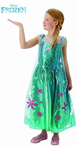 Frozen- Disfraz infantil, Color turquesa, S (Rubie's 610907)