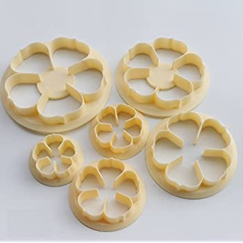 6pcs//set Halloween Cookie Cutters Mold Plastic Bakery Mold Cake Decorating