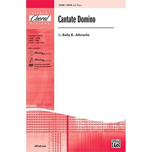 Alfred 00-24088 Cantate Domino - Libro de música