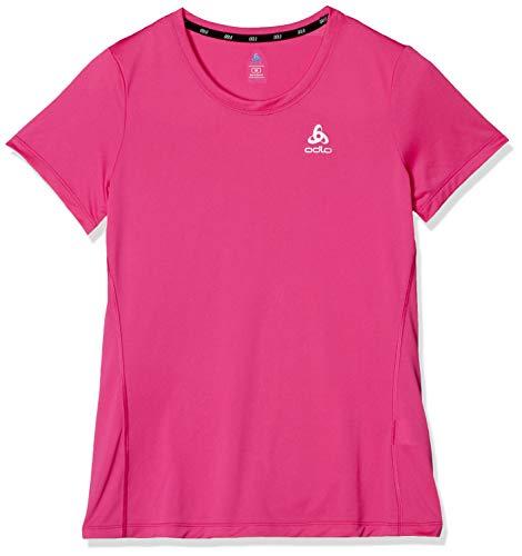 Odlo Damen Element Light Crew Neck T-Shirt, Beetroot Purple, L