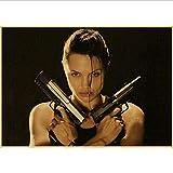 haoziggdeshoop Angelina Jolie Maleficent Lara Croft: Tomb