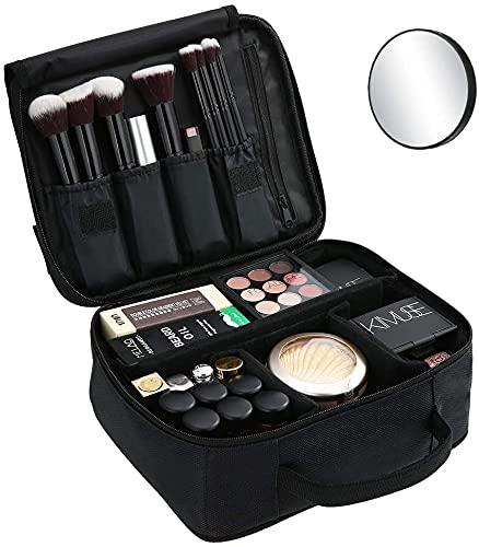 Archile Professional Large Maquillaje Bolso Belleza Impermeable Impermeable Maquillaje Organizador Organizador portátil Bolsa de cosméticos Caja de Maquillaje Arche Ligero para Hombres Y Mujeres