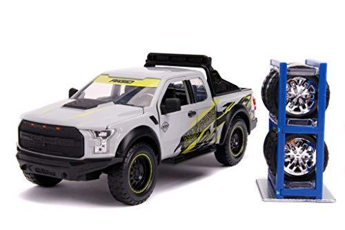 Just Trucks 1:24 Ford F-150 Raptor Addictive Desert Designs with Rack Die-cast...