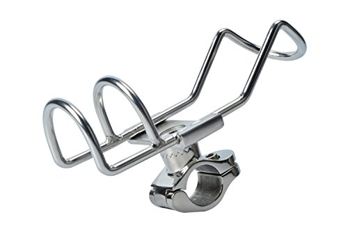 Amarine-made Abrazadera de montaje en riel de acero inoxidable con doble alambre...