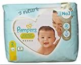 Pampers - Premium Protection New Baby Talla 2 4-8 kg - 30 pañales