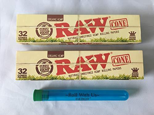 raw cones king size organic - 7