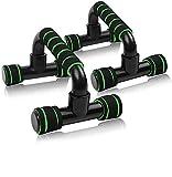AMZ-BOX - Set di 2 impugnature per flessioni antiscivolo, push-up bar per allenamento muscolare e forza