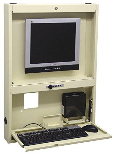 OMNIMED 291440-bg montado en la pared de escritorio/Centro de trabajo, color beige