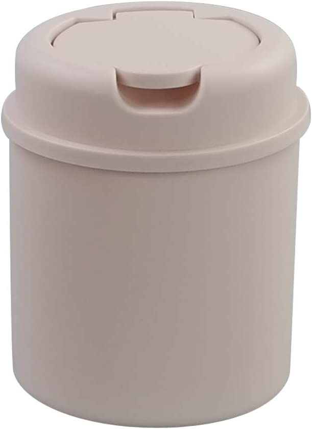 Free Shipping Cheap Bargain Gift AnnkkyUS Mini Trash Can Tiny Garbage Pink Sales results No. 1 Lid with