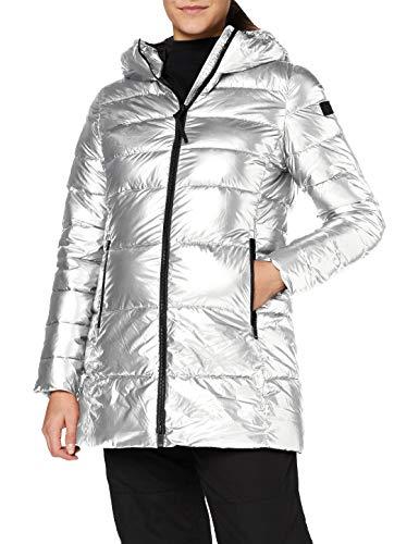 CMP Parka acolchada con efecto shiny chaqueta para mujer, Mujer, Chaqueta,...