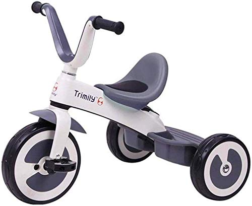 WYRRJ 【New Upgrade】 Pushchairs Children's Rocking Horse Trikes Children's Tricycle Indoor and Outdoor Moped U-Shaped Grip Design Triangle Structure Anti-Rollover Baby Products Stylish Pushchair