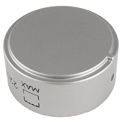 Echte Hotpoint Oven Kookplaat Controle Knop (zilver)
