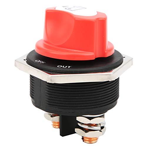 Interruptor de corte de batería DC12-32V Interruptor de apagado de batería Desconexión de batería Fácil de instalar para vehículos todo terreno