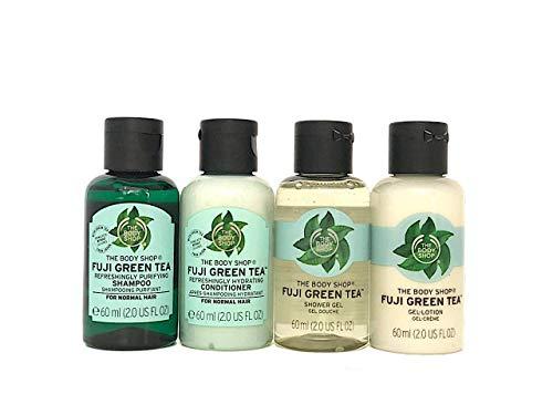 De Body Shop Fuji Groene Thee 60 ml x 4 Bottles Travel Kit