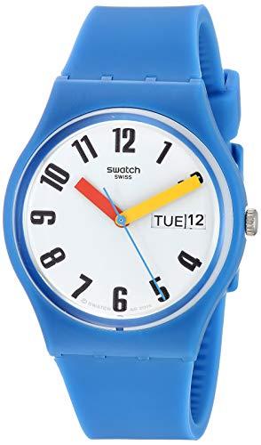 Swatch Reloj Analógico para Unisex Adultos de Cuarzo con Correa en Silicona GS703
