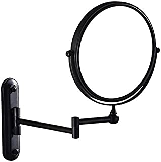 GURUN Two-Sided Swivel Wall Mounted Makeup Mirror With 7X Magnification,Oil-Rubbed Bronze,M1207O(8'',7XMagnification)