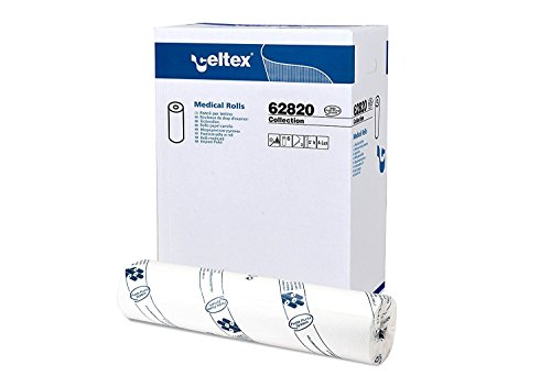 Celtex Collection Lenzuolino Medico Pura Cellulosa 2 Veli (60 X 62 Mt - Confezione Da 6 Rotoli