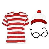 0213V2CBOLN Ilovefancydress «Find me» Costume avec t-Shirt à Manches Longues...