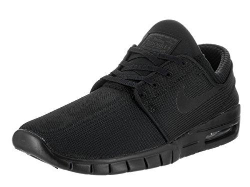 Nike Men's Stefan Janoski Max Black/Black/Anthracite Sneakers - 9.5 D(M) US