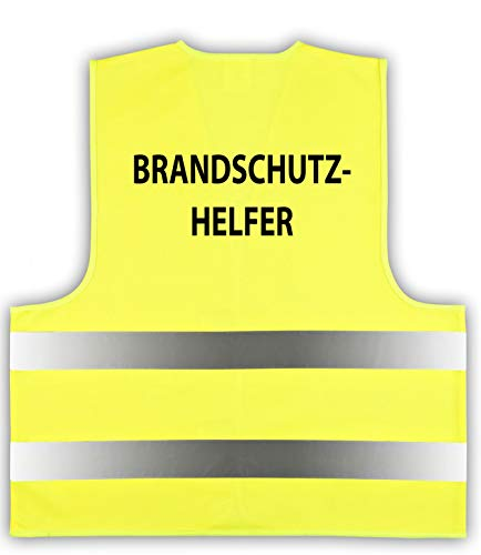 easyMesh® Signalweste Warnweste Gelb Gr. XL/XXL Brandschutzhelfer EN ISO20471