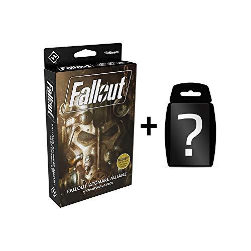 Fallout - Atomare Allianz - Brettspiel   DEUTSCH   Set inkl. Kartenspiel