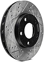 StopTech 127.40092R Slotted & Drilled Rotors
