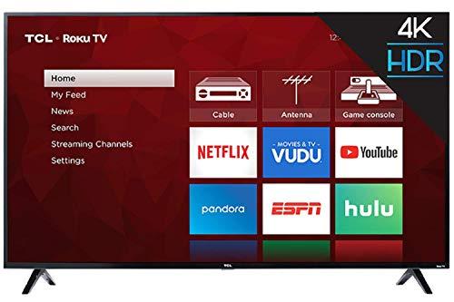 TCL Smart TV Pantalla 65 Pulg 4k 120hz Fhd Roku Integrado