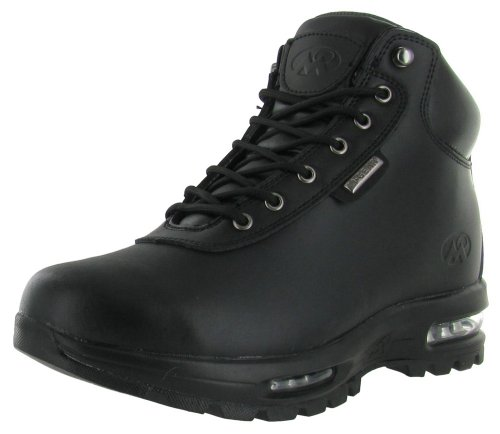 Mountain Gear Men's Cam Leather Boot (10 M US, Black)