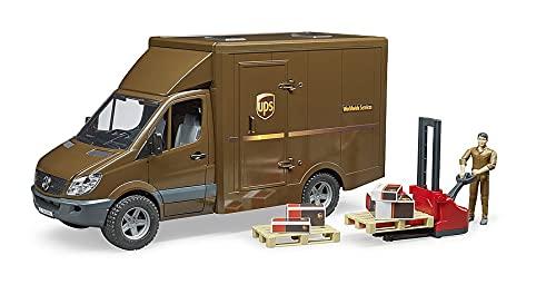 Bruder 02538 - Mercedes-Benz Sprinter UPS mit Fahrer und Zubehör