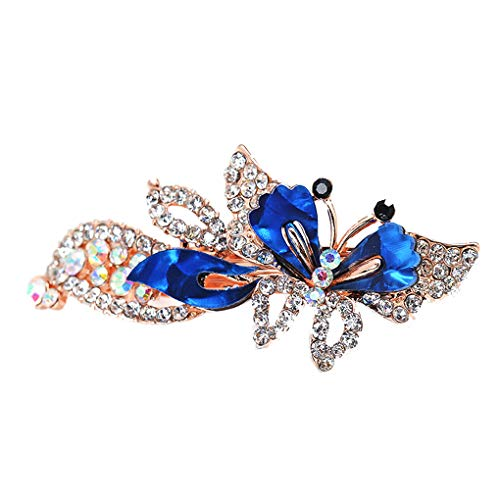 Sharplace Broche Cristal Nombre 5 Strass R/étro Bijoux