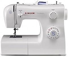 Singer 2259 Tradition - Máquina de coser mecánica, 19 puntadas, 120 V, color blanco