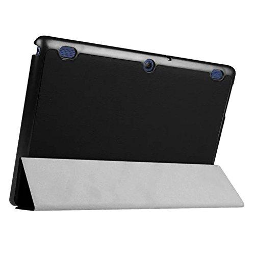 Tasche für Lenovo Tab 2 A10-30 A10-70F / Tab 10 TB-X103F 10.1 Zoll Schutz Hülle Flip Tablet Cover Case TB2-X30 F/L (Schwarz)