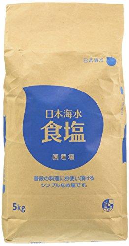 日本海水 日本海水食塩 5kg