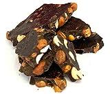 Keto Dark Chocolate Bark, Hazelnuts | Sugar Free Stevia Sweetened, 1g Net Carb, 80% Cocoa | Gluten & Dairy Free, Vegan, Non-GMO Candy - Ketogenic Paleo Diabetic Friendly Snack