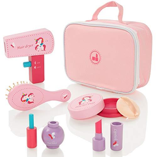 Milly & Ted Kosmetikkoffer aus Holz, Spielset für Mädchen