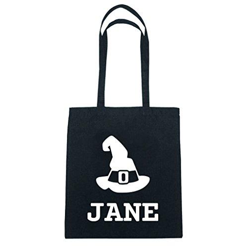 JOllify katoenen tas Halloween voor JANE BH5454 Hoed heks toveraar