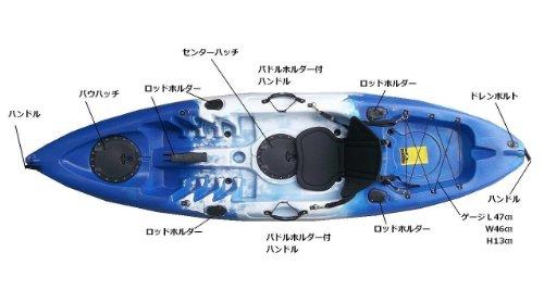 カヤック(HUNTER270)フル装備特別セット