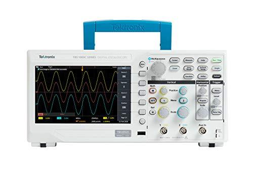 Tektronix デジタル・オシロスコープ 50MHz・1GS/s・2ch・20kレコード長・5年保証期間 TBS1052C