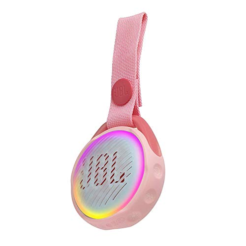 JR Pop - Altavoz Bluetooth (Rosa) JBLJRPOPPIK (Productos Originales japoneses)
