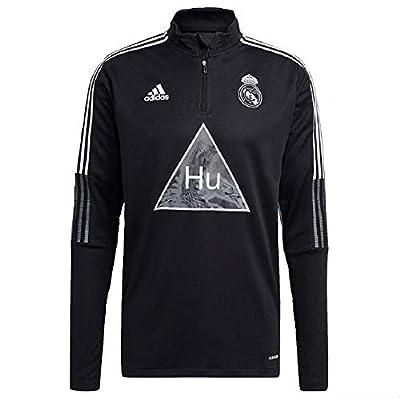 adidas Real Madrid Human Race Training Top (XX-Large) Black