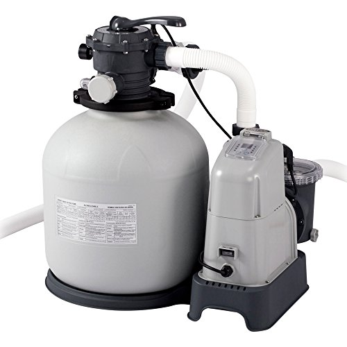 Intex Krystal Clear Sand Filter Pump - Poolreinigung - Sandfilteranlage - 8m³ - 220-240V (W/RCD)