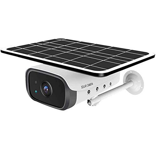 AAFLY Cámara de Seguridad para Exteriores WiFi / 4G con Panel Solar Powered, 1080p CCTV inalámbrico WiFi Vigilancia de la cámara IP Sistema de Seguridad para el hogar con detección Humana PIR (WiFi)