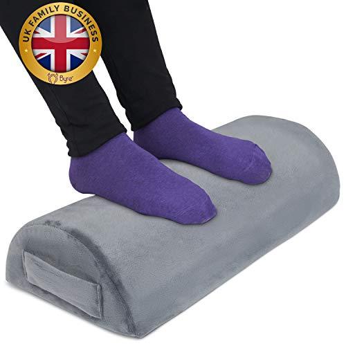 Byre Almohada de apoyo | Almohada de espuma viscoelástica premium para rodilla y apoyo lumbar | Almohada de embarazo | Alivio del dolor de espalda, cuello y piernas